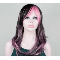 Wholesale Layered Black Synthetic Wig For Women High Temperature Fiber Wigs from china suppliers