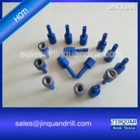 Wholesale diamond grinding pins for sharpening hemispherical and ballistic DTH button bits from china suppliers