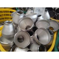 Buy cheap Welded ASME B16.9 stainless steel butt welding Reducers from wholesalers