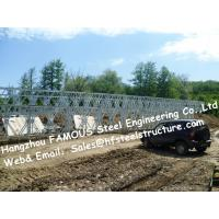 Wholesale Steel Fabricator Supply Prefabricated Steel Structural Bailey Bridge Of Reinforced Steel Q345 from china suppliers