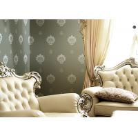 Wholesale 1.06 Korean Living Room Modern Wallpaper , Non Woven Wide Width Wallpaper Breathable from china suppliers
