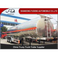 Wholesale Customized 45000 L Fuel tanker Aluminum fuel tanker semi trailer with 3 axle from china suppliers