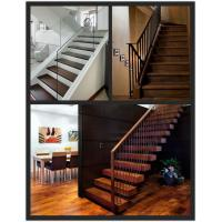 Wholesale prefinished walnut solid wood stair tread from china suppliers