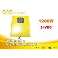 Wholesale High Efficiency 87% Solar Panel Sine Wave Safe Power Inverter 220v 1200w With Charger from china suppliers