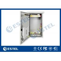 Wholesale Anti Rust Paint 6U Outdoor Wall Mounted Cabinet , Outdoor 19 Rack Enclosure from china suppliers