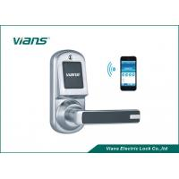 Wholesale Safety Bluetooth Wireless Front Door Lock , Smartphone Controlled Door Lock from china suppliers