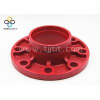 Wholesale CCC FM UL Good quality Groove flange Ductile iron grooved fittings from china suppliers