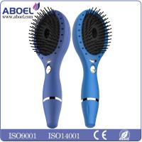 Wholesale Rechargeable Ionic Hair Comb LED light therapy Blue With Plastic Handle from china suppliers