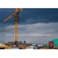 Wholesale Safety Concrete Construction Equipment Luffing Jib Tower Crane 161M Max Height For Max Load from china suppliers