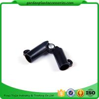 Wholesale Sturdy Plastic Garden Stake Connectors Black Color Adjustable Angle 0 - 170 Degrees from china suppliers