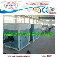 Wholesale Automatic HDPE Pipe Extrusion Machine , HDPE Pipe Plant PLC Control from china suppliers