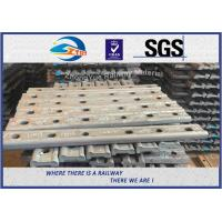 Quality 4 Holes / 6 Holes Railway Fish Plate Joint Bar Fish Plates In Railway Track for sale
