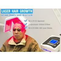 Wholesale Painless Diode Laser Hair Growth Machine With Hair Rejuvenation Therapy For Hair Loss from china suppliers