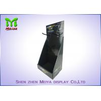 Wholesale Eco-friendly corrugated material cardboard countertop display boxes with plastic hooks from china suppliers