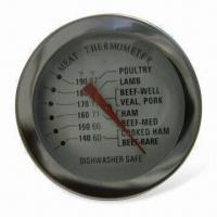 Wholesale Meat Thermometer with Stainless Steel Cast and Glass Type Lens from china suppliers