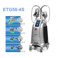 Wholesale Zeltiq Cool Sculpting Liposuction Equipment , Four Handles Cryolipolysis Slimming Machine from china suppliers