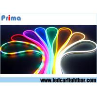 Buy cheap Waterproof 24V - 240V Multi Color RGB Led Neon Flex Light Strip For Home / Car from wholesalers