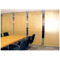 Wholesale Customized Soundproof Office Wooden Partition Wall , Movable Room Dividers from china suppliers