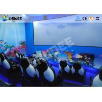 Wholesale Mobile Seating Chairs 5D Cinema System Spray Air / Spray Water 5D Motion Simulator from china suppliers