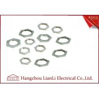Wholesale Steel Hot Dip Galvanized Steel Locknut BS4568 BS 31 Threaded Hexagonal Head from china suppliers