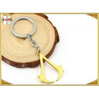 Wholesale Hangbag Accessories Metal Key Ring , Sliver Or Golden Plating Bulk Keychain Rings from china suppliers