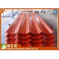 Wholesale Ral Bright Red Pre Painted Color Steel Roof Tile Composite Roofing Panels from china suppliers
