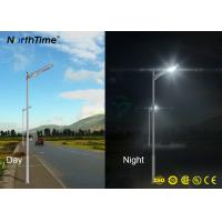 Wholesale Outdoor LED Solar Street Lights Solar Energy Road Lamp 20W Lithium Battery Sensor from china suppliers
