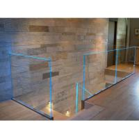 Wholesale LED Glass Balustrade Aluminum U Channel Railing Durable For Stair Balcony Handrail from china suppliers