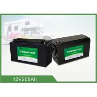 Quality 19.8Kg Smart Lithium Battery , 200ah 12 Volt Rv Battery Deep Cycle Bluetooth Connection for sale
