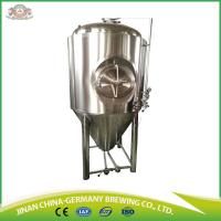 Buy cheap 1000L used commercial brewing equipment for sale with easy operated stainless steel brewing systems from wholesalers