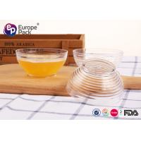 Wholesale Biodegradable Transparent Disposable Plastic Bowls With Lids FDA Approve from china suppliers