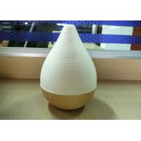 Quality Modern Artistic Wood Crafts Nature Walnut Aroma Lamp Pedestal 128 x 50mm for sale