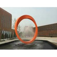 Quality Hot sales Stainless steel  sculpture with laser cutting,  metal sculpture with painting for sale