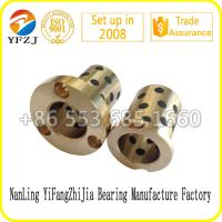 Wholesale Oilless Components Series Oilless Brass Bushing,Guide bushes,Graphite bushing from china suppliers