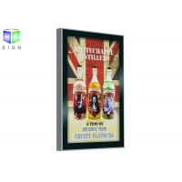 Wholesale Scrolling Advertising Signs A3 Light Box Remote Control Wall Mounting from china suppliers