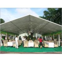 Wholesale 100 Seater Temporary Outdoor Garden Party Canopy Tent Open Gable Sunshade Construction from china suppliers
