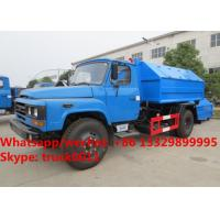 Wholesale Factory sale dongfeng long nose 6m3 hook lift garbage truck, wholesale lower price dongfeng hook wastes container truck from china suppliers