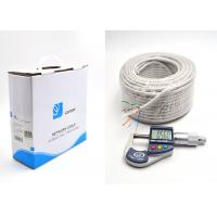 Wholesale UTP Cat 6 Ethernet Cables Bulk 100m 24AWG Full Copper Wire UTP Pull Box , GREY from china suppliers