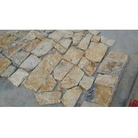 Wholesale Natural Stone Fieldstone Stone Veneer Yellow Slate Castle Rock Veneer Culture Stone Veneer from china suppliers