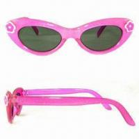 Wholesale Kid's Sunglasses, Non-toxic and Lead-free, Available with Scratch-resistant Coating on Lens from china suppliers