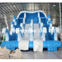 Wholesale Large Pvc Water Dolphin Slide Inflatable Surf Game with Blower for Kids and Adult from china suppliers