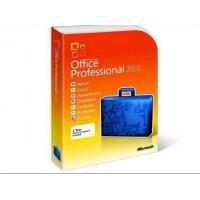 ORIGINAL Multilenguaje Microsoft Office 2010 Professional Retail Box with License / DVD