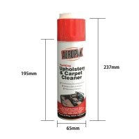 Wholesale UV Protection TUV 500ml Tinplate can Foam Cleaner Spray from china suppliers