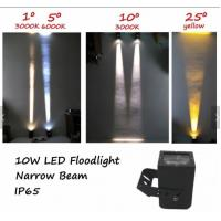 Buy cheap 10W AC110V-230VDC24V Square LED Floodlight Spotlight Narrow Beam Lamp degrees Outdoor IP65 from wholesalers