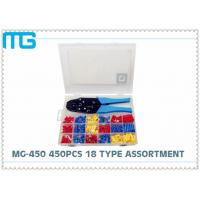 Wholesale 1012pcs Insulated spade  terminal assortment Kits ,Electrical Wire Terminal Kit Crimping terminal assorted kit from china suppliers