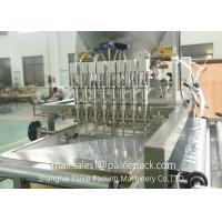 Quality Stainless Steel Automatic Linear Filling Machine With AC Servo Motor 100 - 500ml for sale