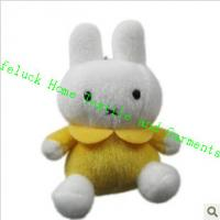Wholesale Miffy Rabbit Kids Cute Plush Toys Mobile Phone Chain Pendant , Durable from china suppliers