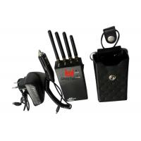 Wholesale GSM850 PCS1900 Anti - tracking mobile phone gps jammer With four 3dBi Antennas from china suppliers