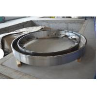 Wholesale Large Diameter Stainless Steel Machining Turning Machined Turned Drilling High Precision Gas Steam Turbine End Rings from china suppliers