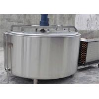 Wholesale Horizontal Liquid Water or Milk Transport Tank / Dairy Milk Storage Tank With SUS304 from china suppliers